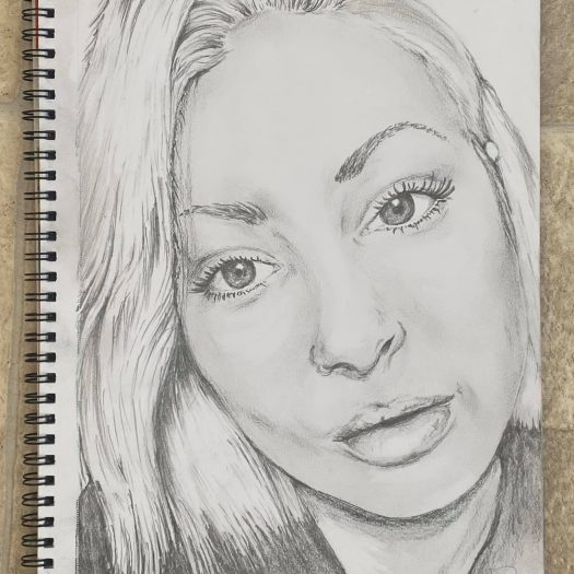 Portrait Drawing by Ryan Swain